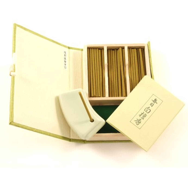 誤って異常樹木Japanese Sandalwood Incense Gift Set Mainichi Byakudan by Nippon [並行輸入品]