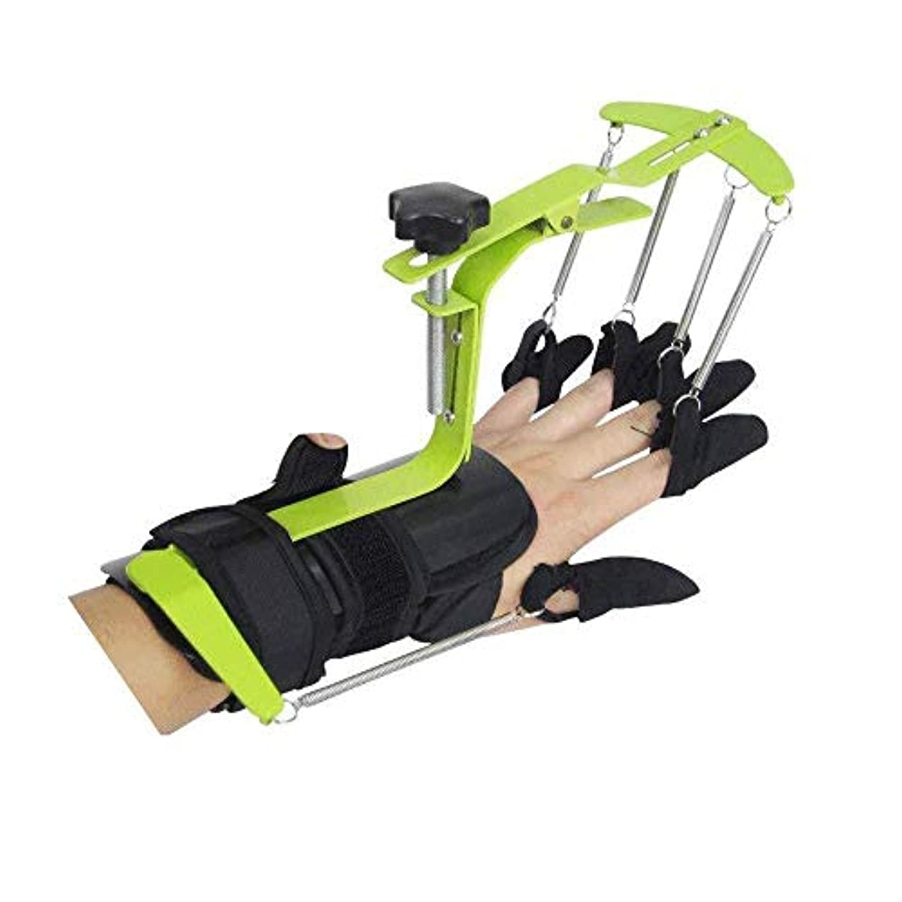 一人でご近所トリガースプリント、指トレーニングデバイス、指骨折サポート、脳卒中/片麻痺/外傷性脳損傷