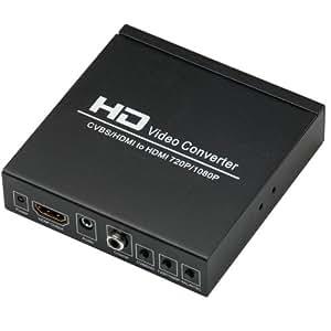 TSdrena アナログ(コンポジット + HDMI) → HDMI変換コンバーター HAM-CCHHJ [相性保証付き]