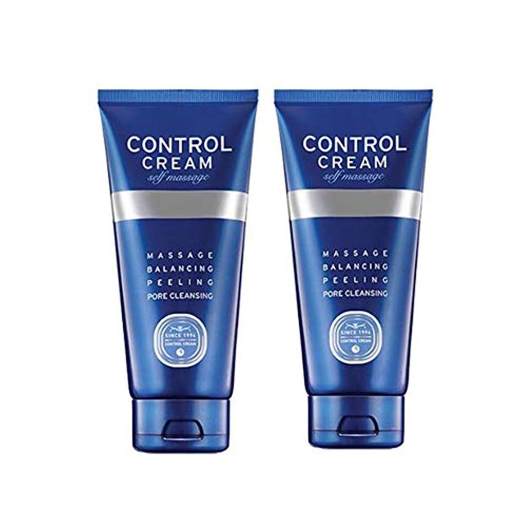 話をする永遠のお香チャムジョンコントロールクリームセルフマッサージ150ml x 2本セット、Charmzone Control Cream Self Massage 150ml x 2ea Set [並行輸入品]