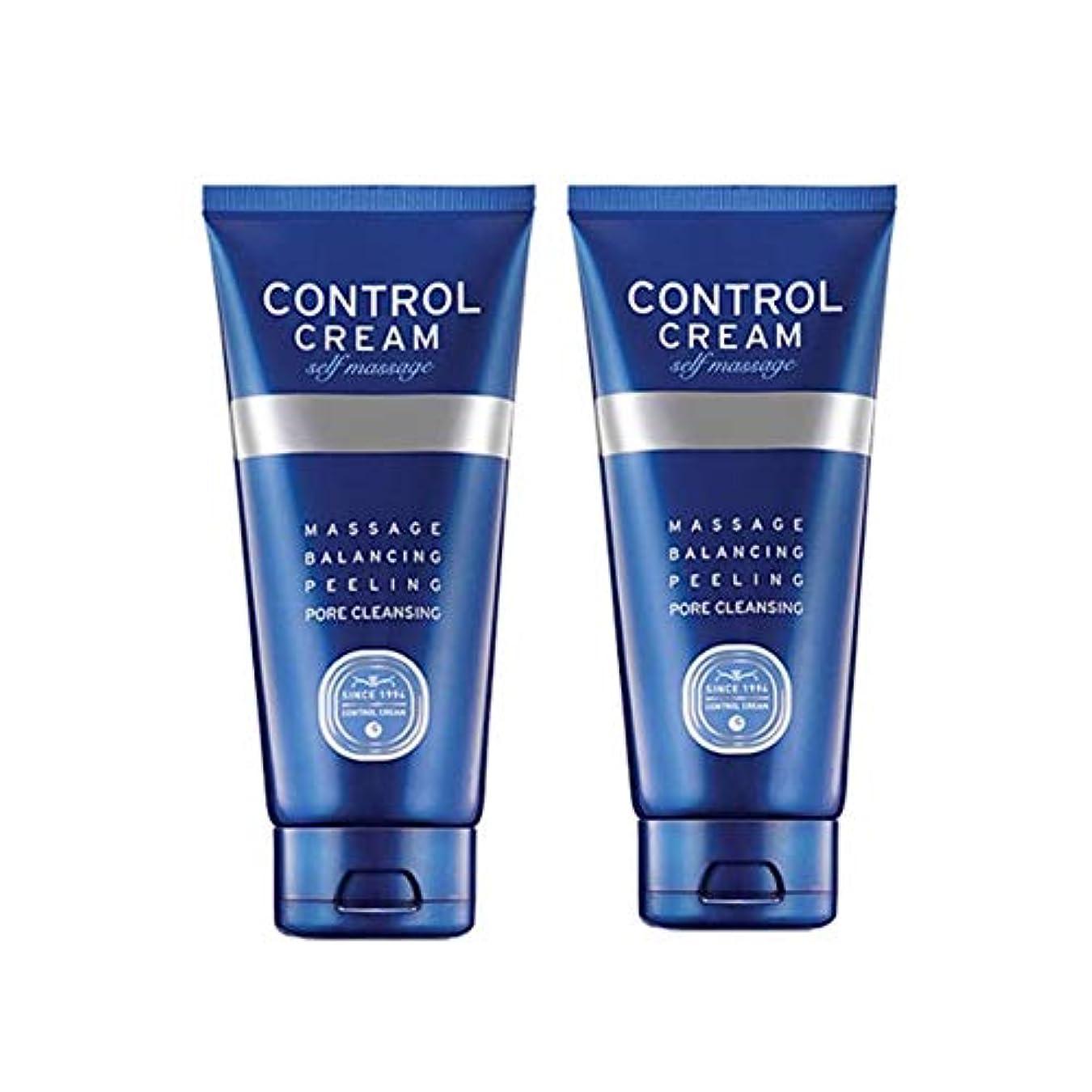 エーカーリークブロッサムチャムジョンコントロールクリームセルフマッサージ150ml x 2本セット、Charmzone Control Cream Self Massage 150ml x 2ea Set [並行輸入品]