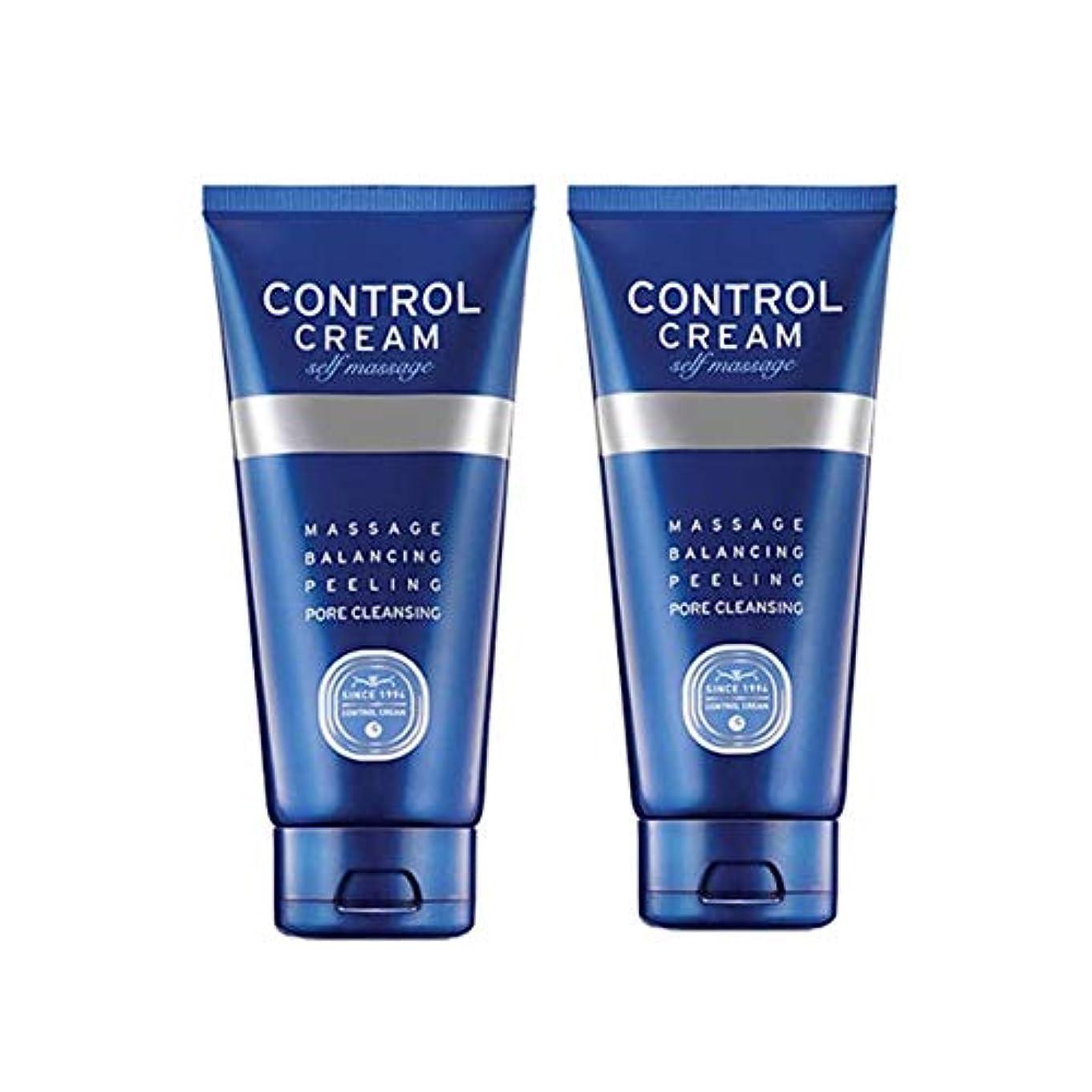 理容室少ない日常的にチャムジョンコントロールクリームセルフマッサージ150ml x 2本セット、Charmzone Control Cream Self Massage 150ml x 2ea Set [並行輸入品]