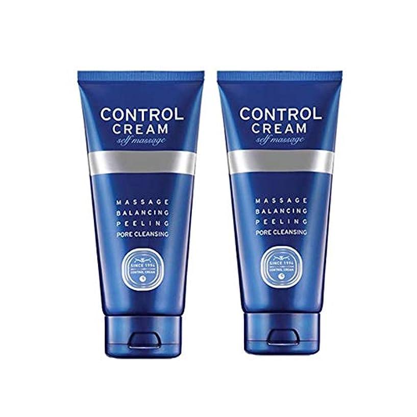 カブ砂漠電報チャムジョンコントロールクリームセルフマッサージ150ml x 2本セット、Charmzone Control Cream Self Massage 150ml x 2ea Set [並行輸入品]