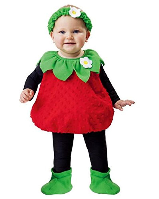 [トータリーグール]Totally Ghoul Strawberry Vest Costume, Size: Toddler, 12 Years [並行輸入品]