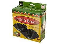 Tortilla Baking Bowlsセット–パックof 18