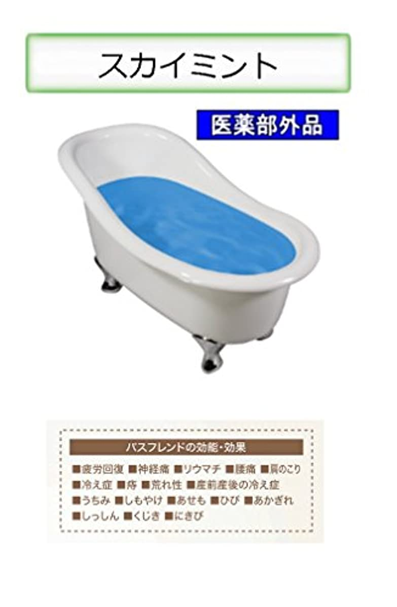 バルブアテンダント討論薬用入浴剤 バスフレンド/伊吹正 (スカイミント, 17kg)