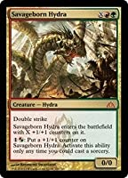 英語版 ドラゴンの迷路 Dragon's Maze DGM 野蛮生まれのハイドラ Savageborn Hydra マジック・ザ・ギャザリング mtg
