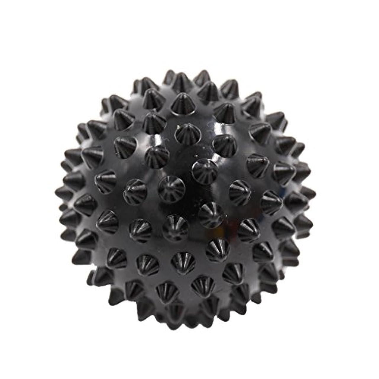 アナニバーピンポイントおそらくマッサージボール マッサージ器 ボディ レリーフ スパイク マッサージ 刺激ボール 3色選べ - ブラック, 説明したように