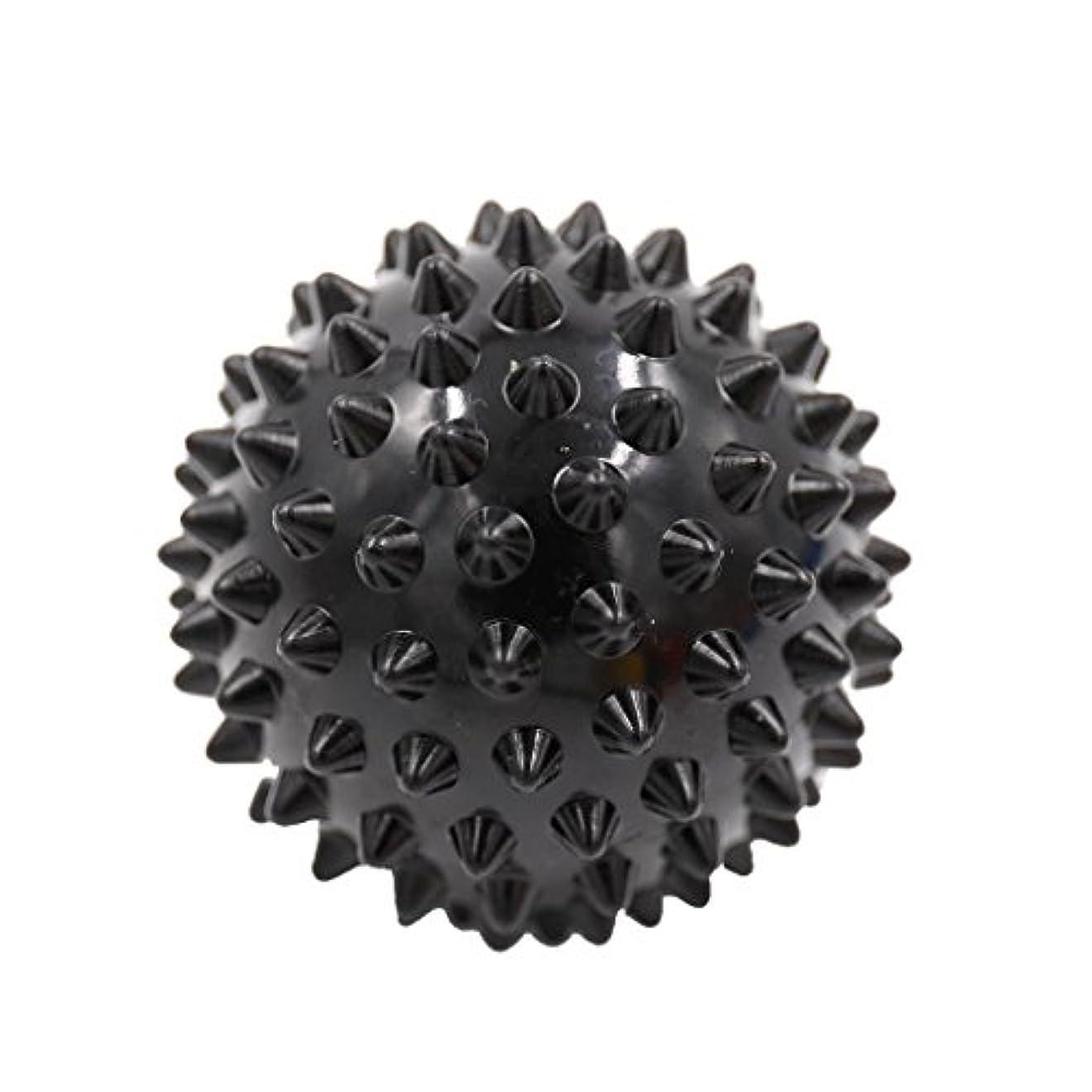 放射する辞書無線マッサージボール マッサージ器 マッサージャー リラックス スパイク マッサージボール 3色選べ - ブラック, 説明したように