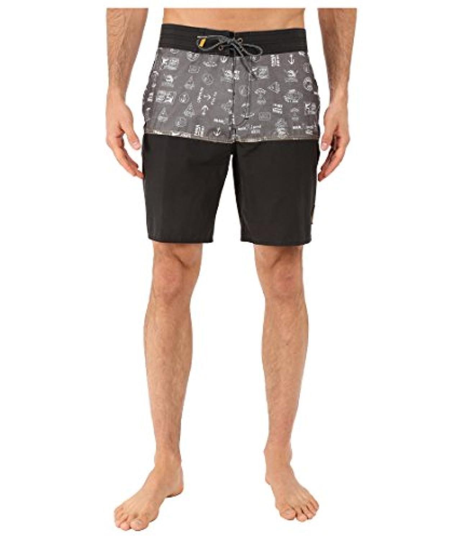 バンズ スイムウェア スイムウェア Middles Boardshorts Black (Cap 1be [並行輸入品]