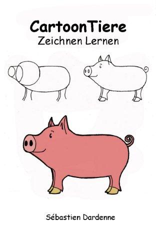 Cartoon Tiere Zeichnen Lernen German Edition Ebook