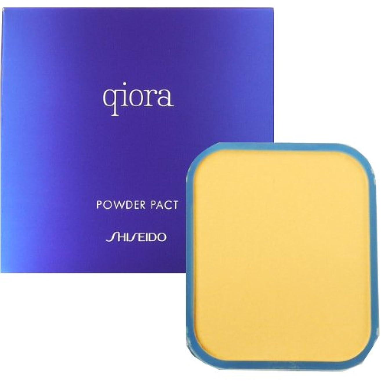 香りに賛成おばあさん資生堂 キオラ qiora パウダーパクト SPF17 PA++ 【詰め替え用】 10g【オークル00】