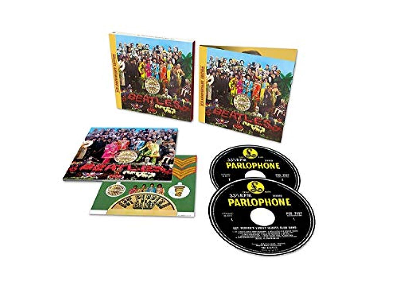 その間パートナー現代のSgt. Pepper's Lonely Hearts Club Band Anniversary Deluxe Edition (2CD)