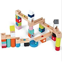 Leegor Building Blocks Early Childhood Children's Educational Toys Wooden Pole Geometry Shape Intellige Christmas Gift [並行輸入品]
