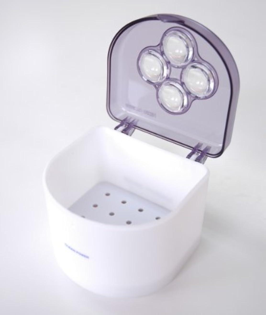 拡大する拡大するウガンダ【CLEAN POWER】入れ歯クリーナー「クリーンパワー」 2個セット 日本製
