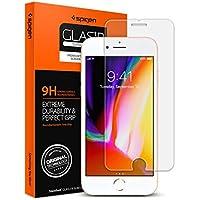 【Spigen】 スマホ ガラスフィルム iPhone8 Plus / iPhone7 Plus 対応 強化ガラス 液晶保護フィルム 高透過率 3DTouch対応 043GL20608 (GLAS.tR SLIM (1枚入))