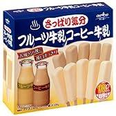 オハヨー乳業 さっぱり気分 フルーツ牛乳コーヒー牛乳 10本入×8箱