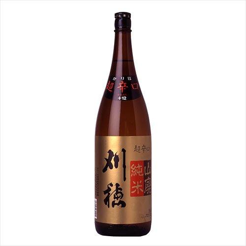 刈穂 山廃純米超辛口(刈穂酒造) 1800ml