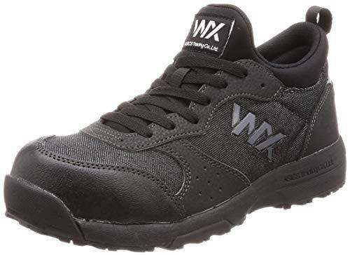 [アシックス商事 テクシーワークス] 安全靴 プロテクティブスニーカー WX-0003 メンズ安全靴 ブラックデニム 27.5 cm 3E