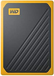 WD ポータブルSSD 500GB USB3.0 イエロー My Passport Go 外付け / 3年保証 【PS4 / Xbox Oneメーカー動作確認済】WDBMCG5000AYT-WESN