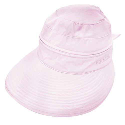 [해외]고시레 Gosear 여성 여성 넓은 고리 접이식 태양 모자 챙 모자 여름 자외선 보호 비치 여행 캡/Gossire Gosear female ladies wide brim folding sun hat visor hat summer ultraviolet protection beach travel cap