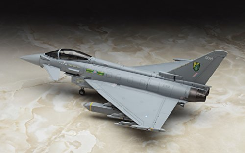 ハセガワ 1/72 イギリス空軍 ユーロファイタータイフーン 単座型 プラモデル E40