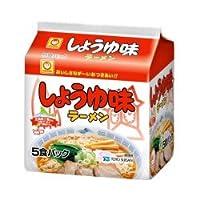 マルちゃん しょうゆ味ラーメン(北海道)5食パック