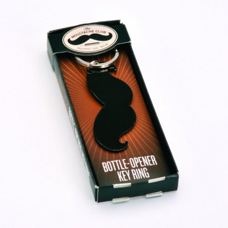 【GINGER FOX】 ヒゲオープナーキーリング ボトルオープナーとしても使用できます!GFMC-004