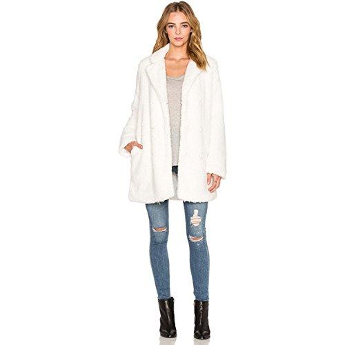 (ルーカ) RVCA レディース アウター コート Warm me up Faux Fur Coat 並行輸入品