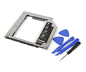 MacLab. 内蔵光学ドライブをHDDやSSDに置き換えるためのキット【MacBook Late2009以降、MacBookPro 13/15/17 Mid2009以降に対応】【相性保証付】