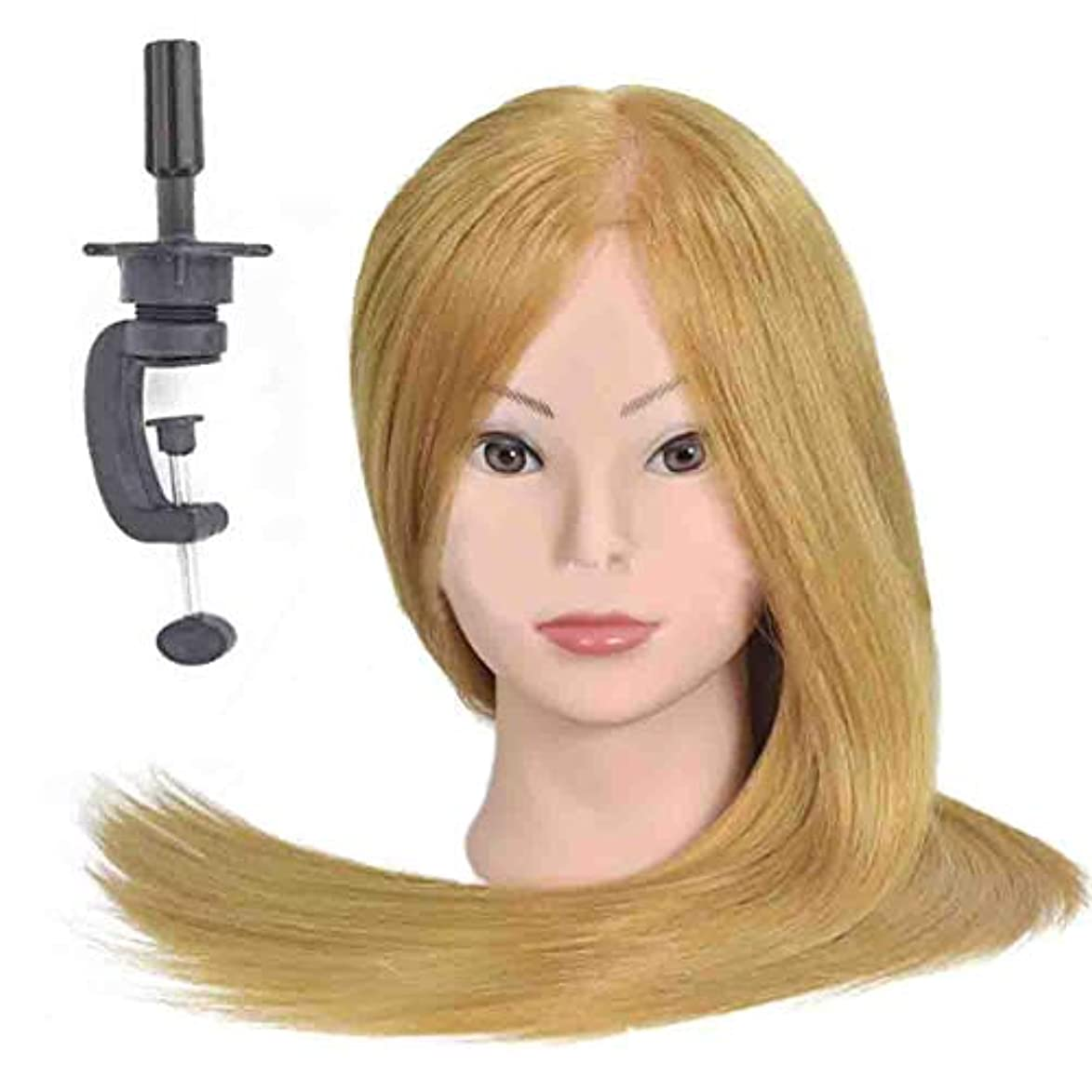 アマゾンジャングル艶パイントメイクディスクヘアスタイリング編み教育ダミーヘッドサロンエクササイズヘッド金型理髪ヘアカットトレーニングかつら