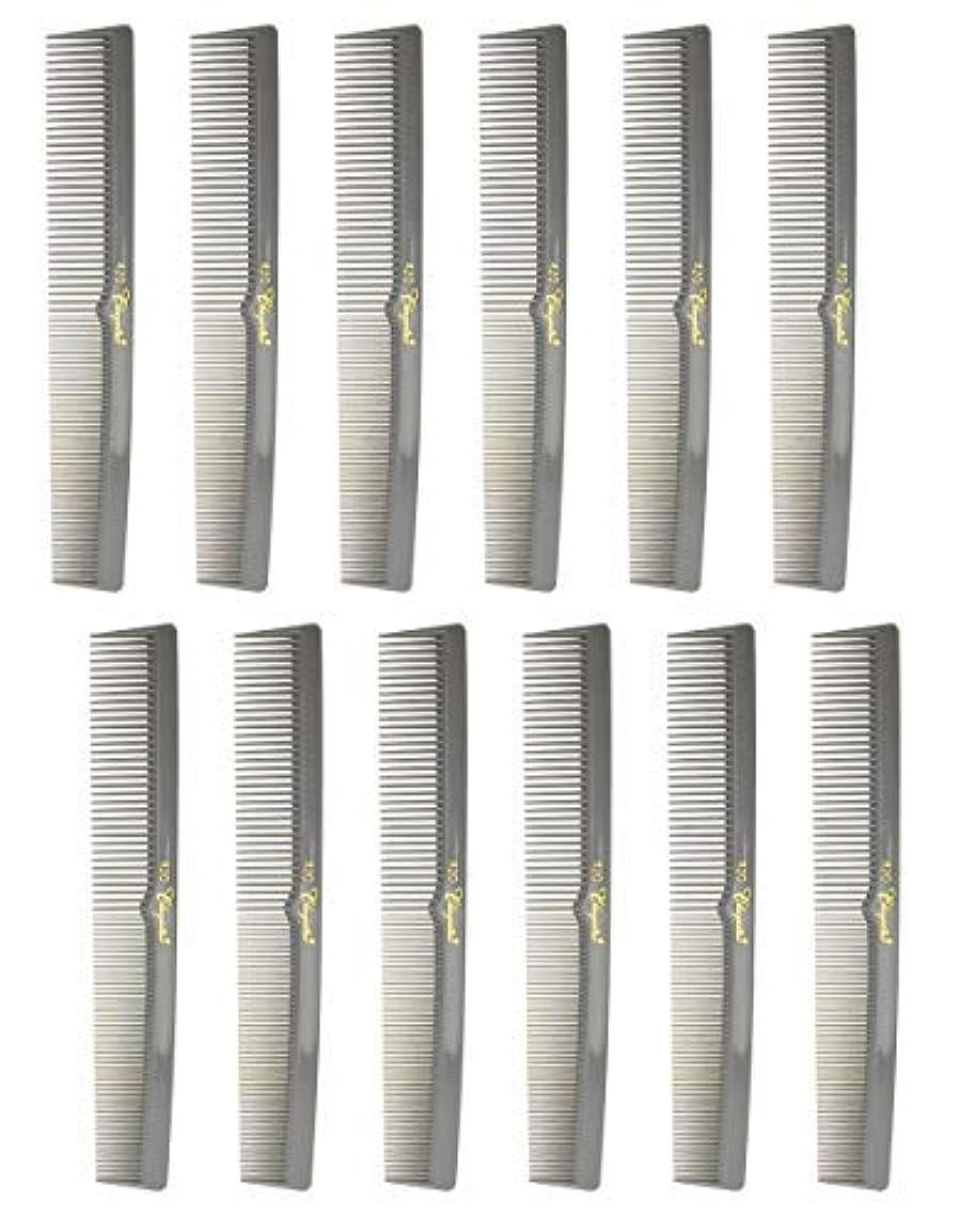 バランス北極圏遷移7 Inch Hair Cutting Combs. Barber's & Hairstylist Combs. Gray. 1 DZ. [並行輸入品]