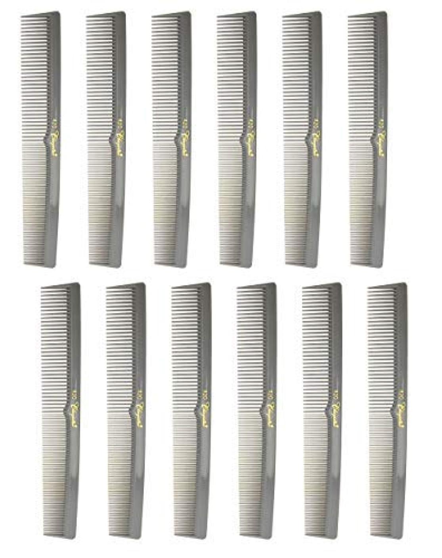 あいまいな節約小康7 Inch Hair Cutting Combs. Barber's & Hairstylist Combs. Gray. 1 DZ. [並行輸入品]