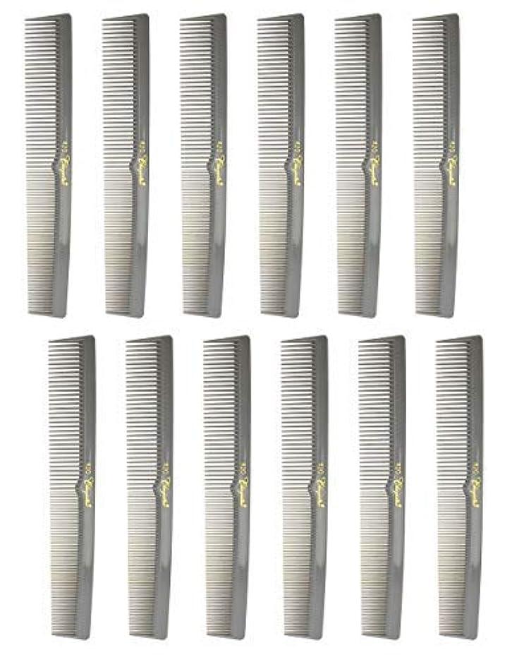 粘土参照する素敵な7 Inch Hair Cutting Combs. Barber's & Hairstylist Combs. Gray. 1 DZ. [並行輸入品]