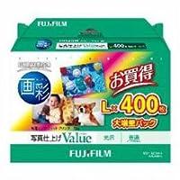 【まとめ 5セット】 富士フイルム WPL400VA 写真仕上げValue(バリュー) L判 400枚