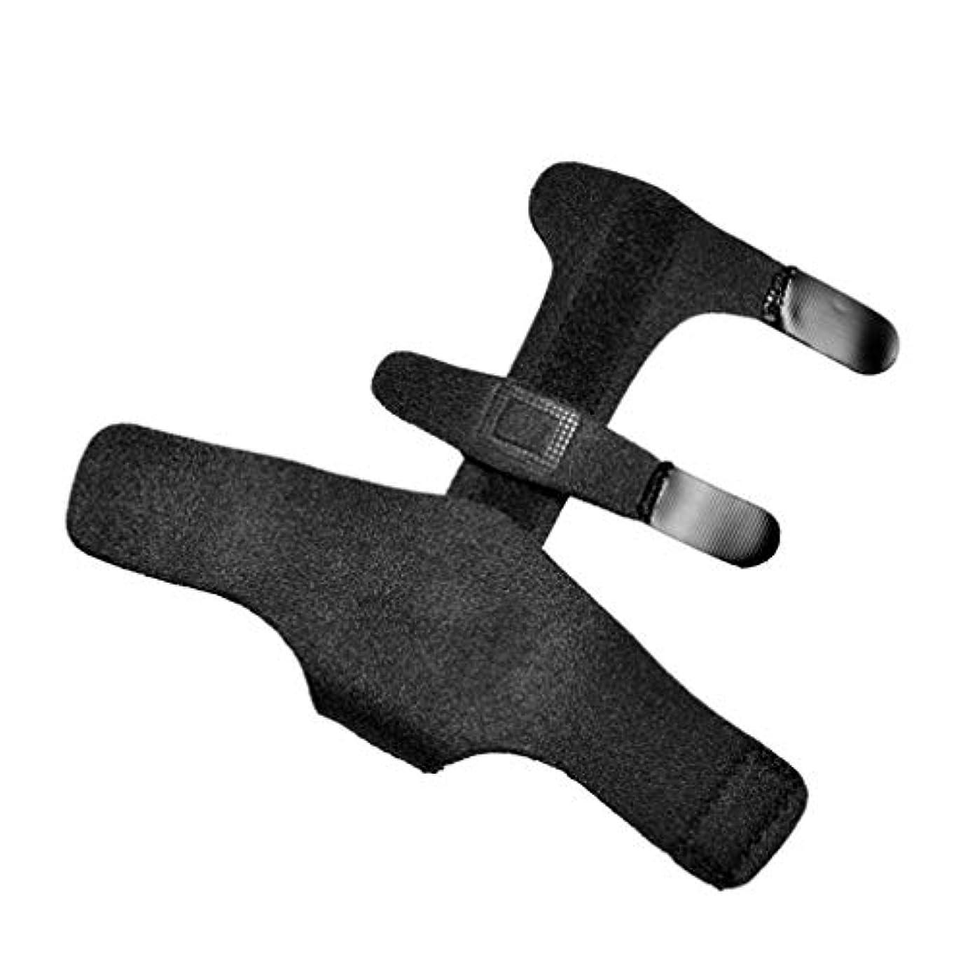 東完璧なプラカード親指スプリント、スプリント固定フィンガージョイント捻挫とホームの指固定して指骨折固定、ワンサイズ