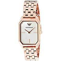 Emporio Armani Women's AR11147 Analog Quartz Rose Gold Watch
