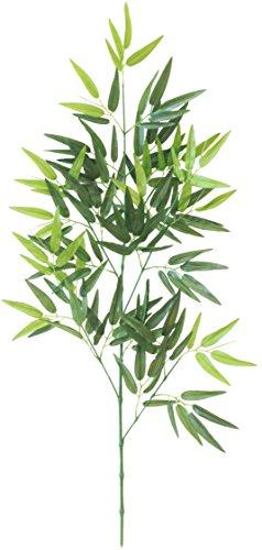 山久 七夕飾り お盆に 手入れ簡単 「笹竹」 (中サイズ 約90cm) CT触媒加工【造花】【シルクフラワー】 -