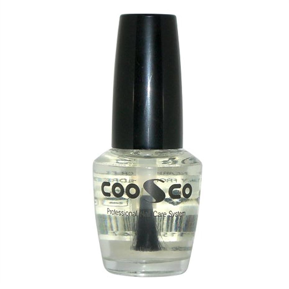 入場支払い不潔チェスネイル用 CCトップコート (COOSCO Professional Nail Care System CC Top Coat) 15mL