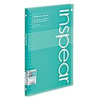 マルマン B5ファイルノート インスピア ブルー F017-02 ブルー 00015117 【まとめ買い5冊セット】