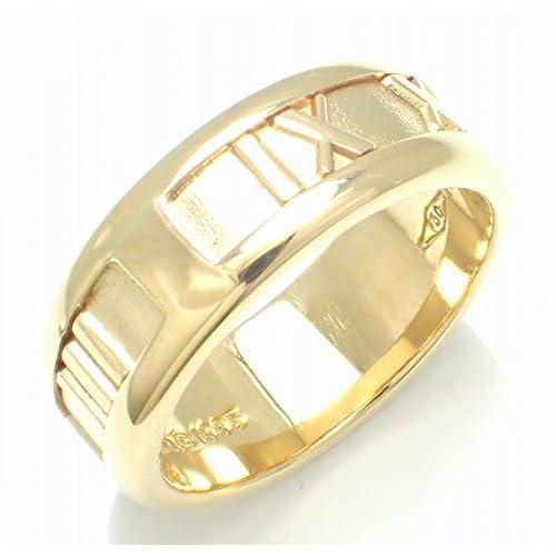 [ティファニー] TIFFANY&Co. アトラス リング 指輪 K18 ゴールド #12