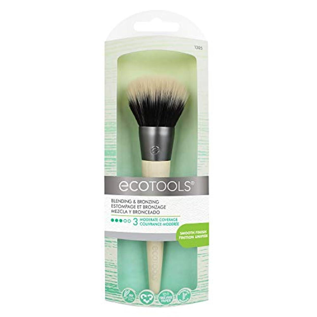 わざわざ冷ややかな予約EcoTools Blending and Bronzing Brush (並行輸入品)