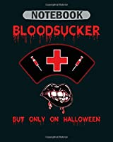 Notebook: gift halloween nurse - 50 sheets, 100 pages - 8 x 10 inches
