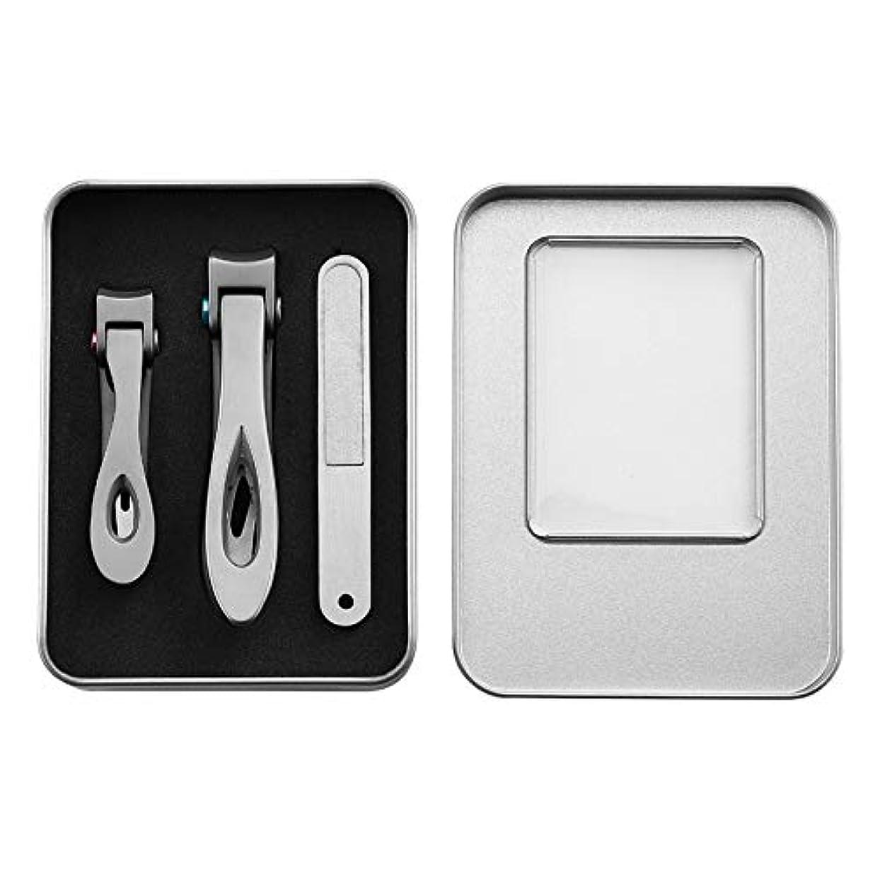 バタフライ見ました機動パースステンレス鋼の爪切りは、卸売サイトで大きな厚い爪切りと小さな爪具を設定します