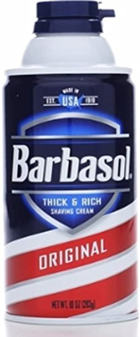 からに変化するパンツ知覚的Barbasol Beard Buster Shaving Cream Original 10 oz (Pack of 6) [並行輸入品]