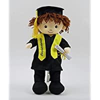 Cute Boy Graduation Doll Makes Great Gift for Student 。