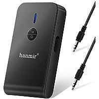 Bluetooth トランスミッター レシーバー Bluetooth送信機 受信機 一台二役 Bluetooth 5.0 12時間再生 低延遅 3.5mmオーディオ(ブラック)