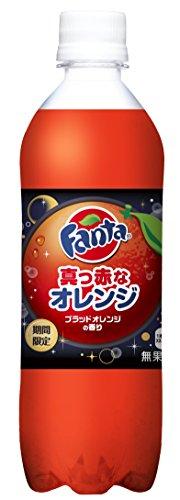 コカ・コーラ ファンタ 真っ赤なオレンジ 490ml PET×24本