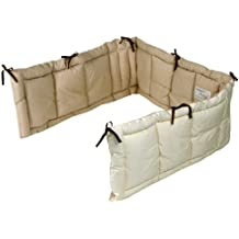 Rafenzu Rafens pene fluffy organic bed guard for crib (half type)