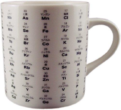 FARZEN お茶を飲んでるだけなのになんだか頭が良くなるマグカップ 元素記号 マグカップ DM2578